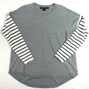 French Connection Sweater Size Large Gray EUC